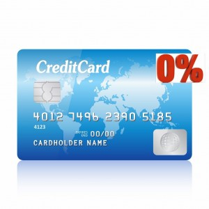 0% Interest Credit Card