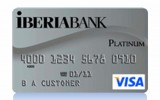 Iberiabank Visa Platinum Card