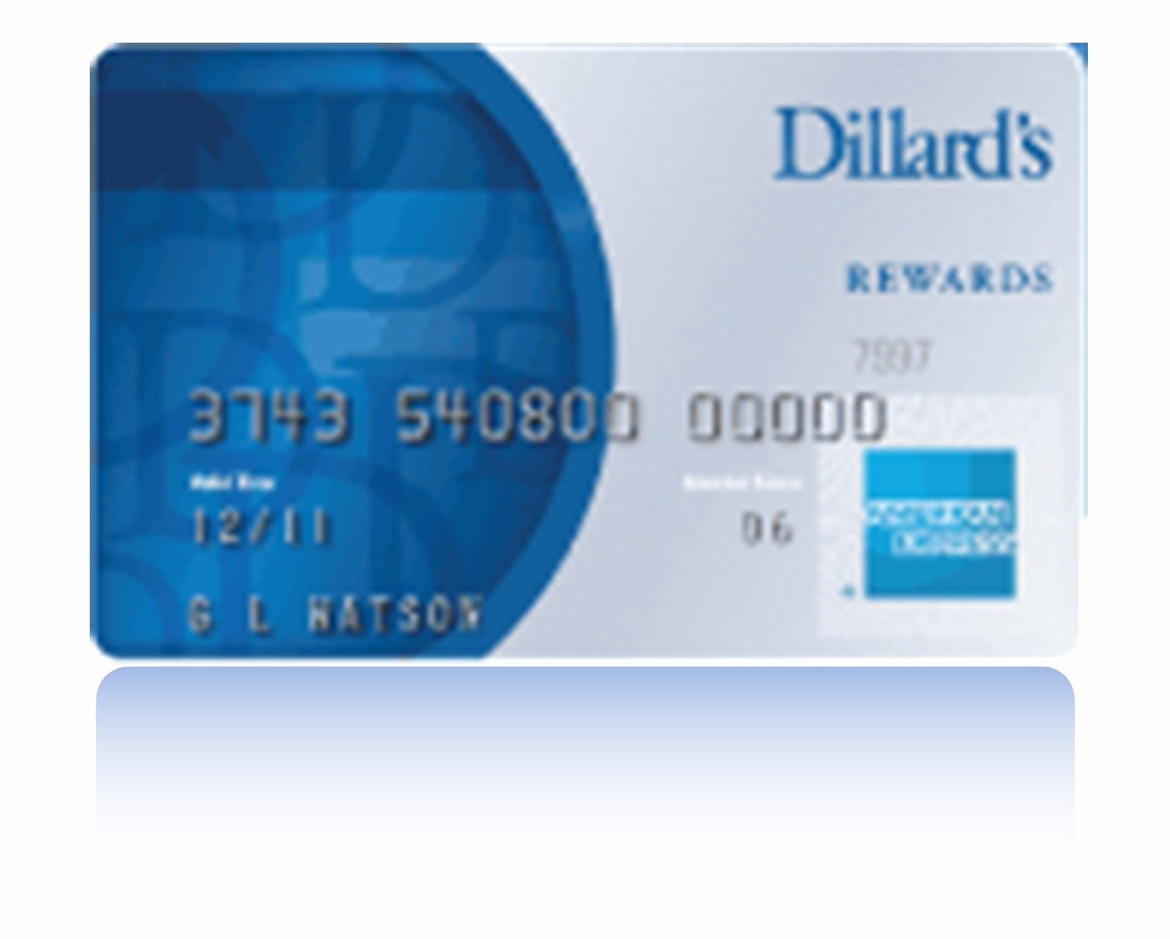 Nov 17,  · Certificates for opening a Dillard's credit card account will arrive with the Dillard's Card and expire 60 days from issuance. 1 This credit card program is issued and administered by GE Money Bank. American Express is a federally registered service mark of American Express and is used by GE Money Bank pursuant to a license.