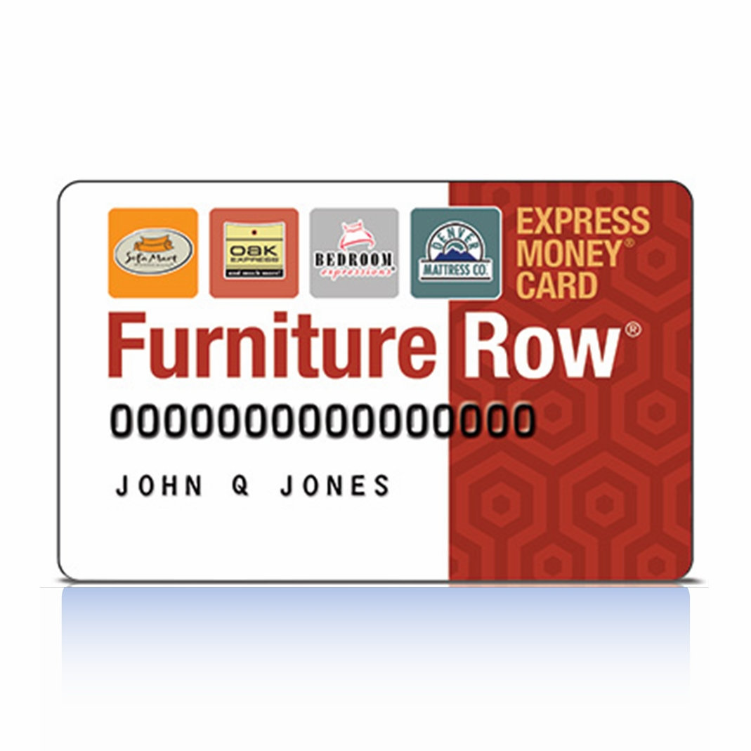 Exceptional Furniture Row Credit Card